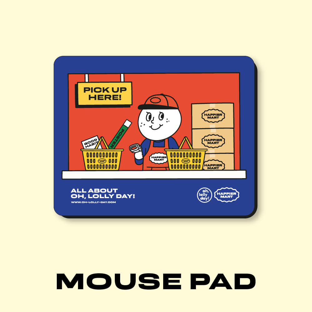 HAPPIER MART mouse pad_ver.1